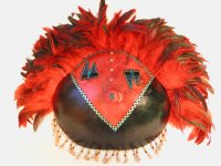 Fire Dancer Gourd Mask